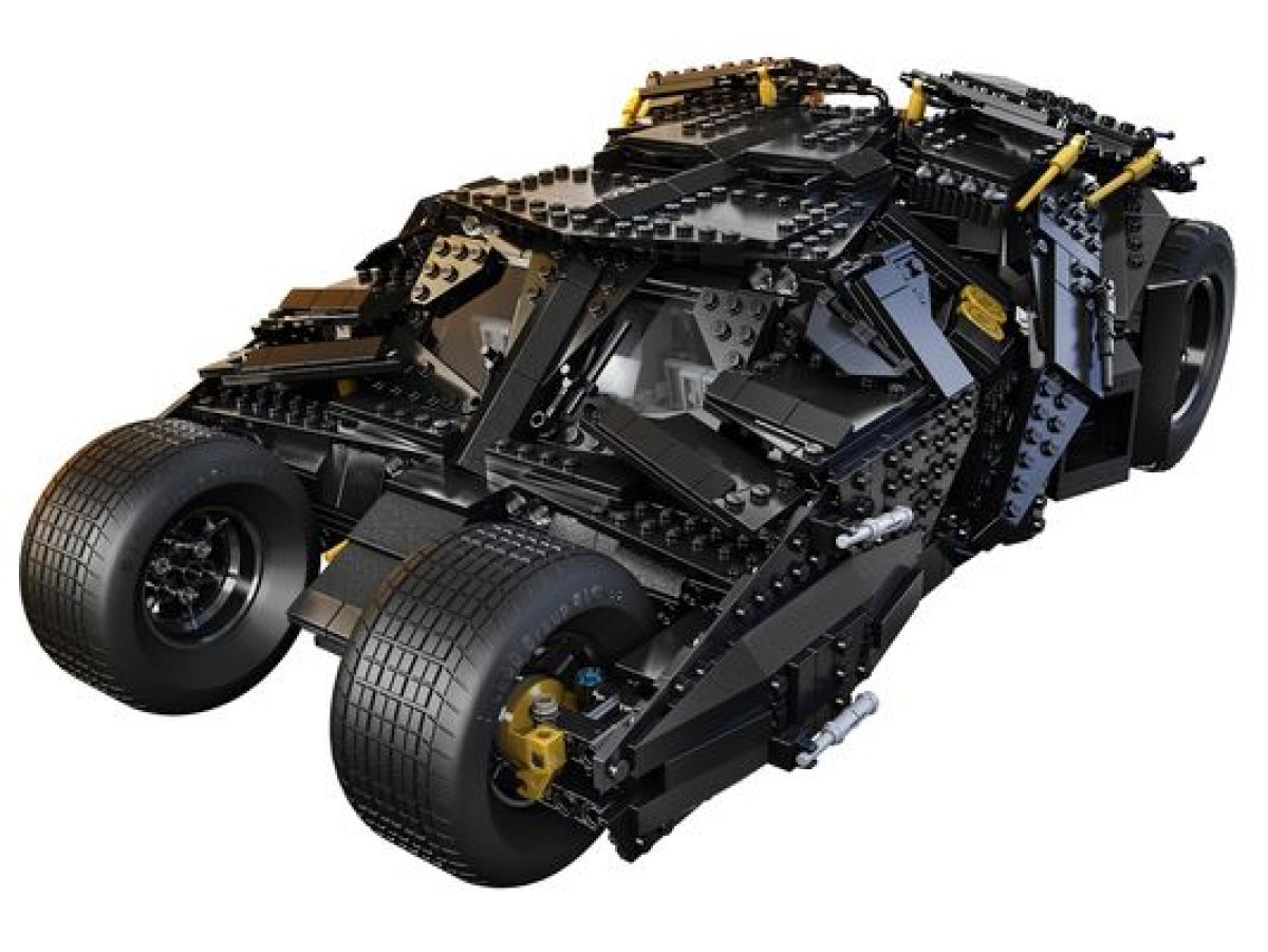 'The Dark Knight Rises' Lego Tumbler