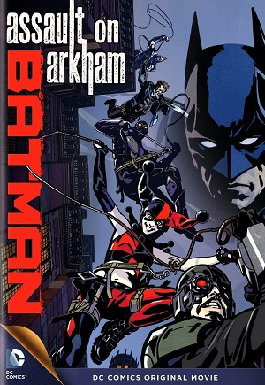 'Batman: Assault on Arkham' Cover