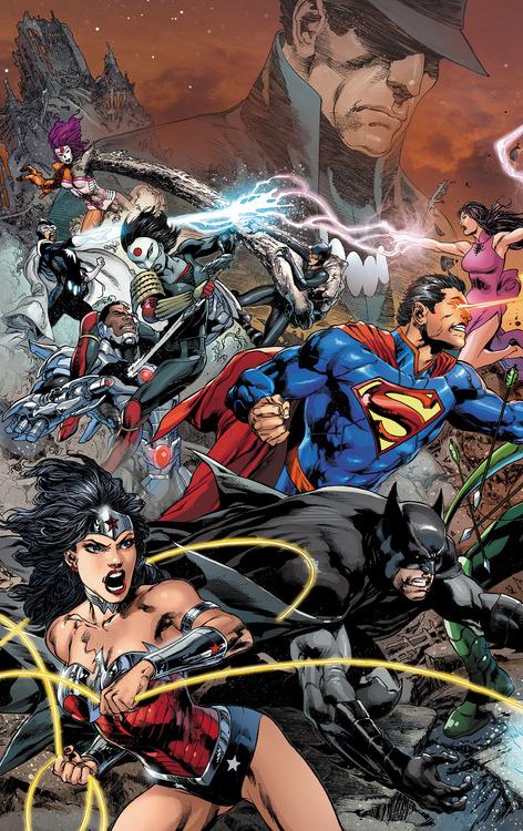 'Justice League' #22