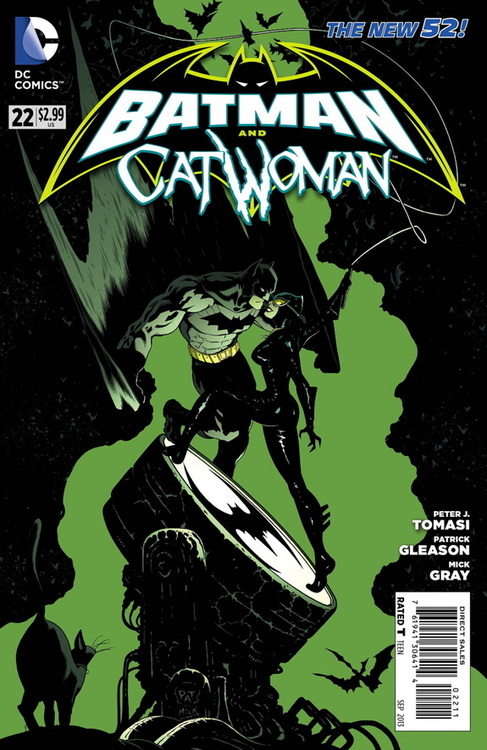 'Batman and Catwoman' #22