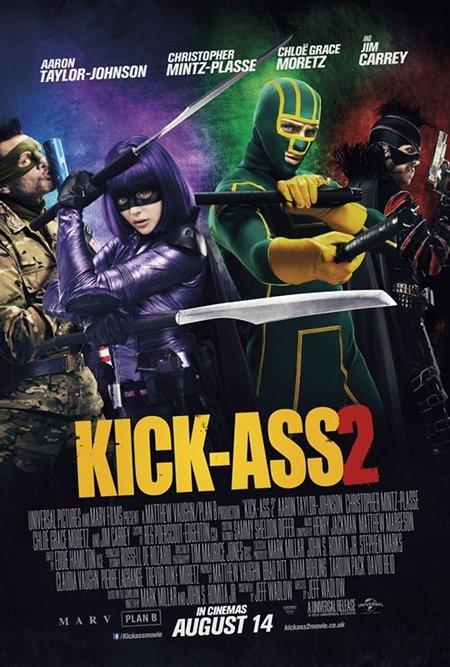'Kick-Ass 2′ Poster