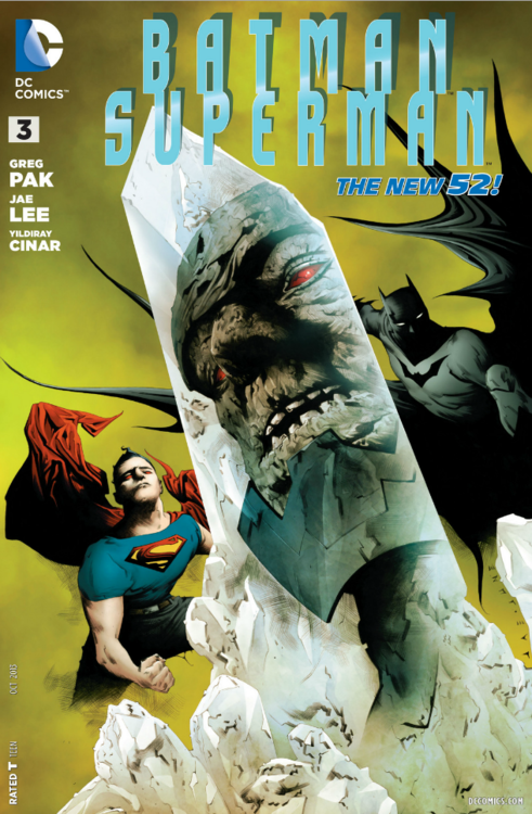 'Batman/Superman' #3 cover by Jae Lee