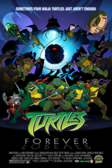 'Turtles Forever' Poster Art