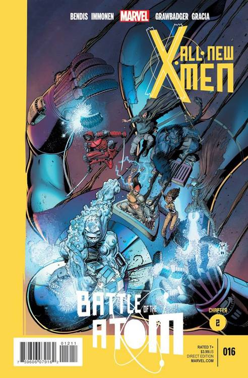 'All-New X-Men' #16 ('Battle of the Atom' pt.2)