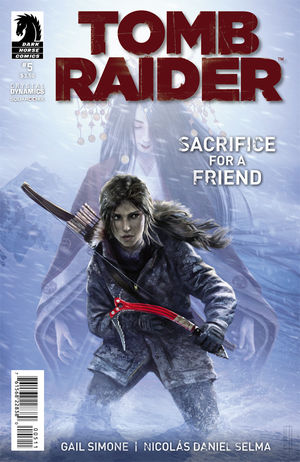 Tomb Raider (2014) #5 cover