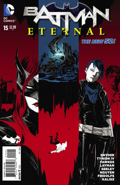 'Batman Eternal' #15 cover by Dustin Nguyen