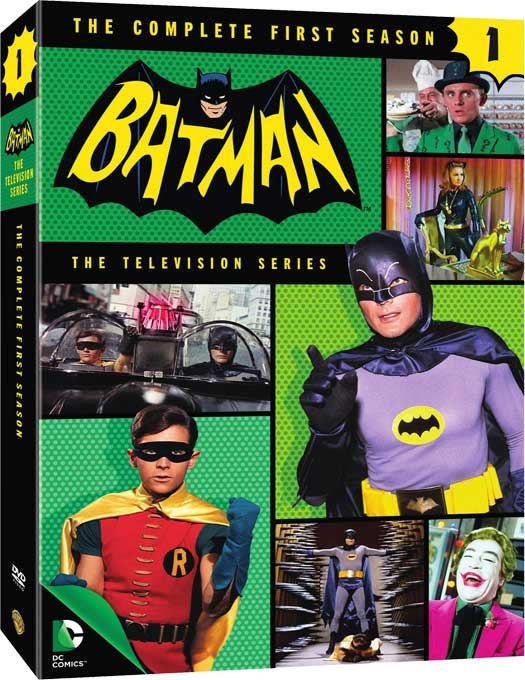 'Batman '66' Season 1 Box Art