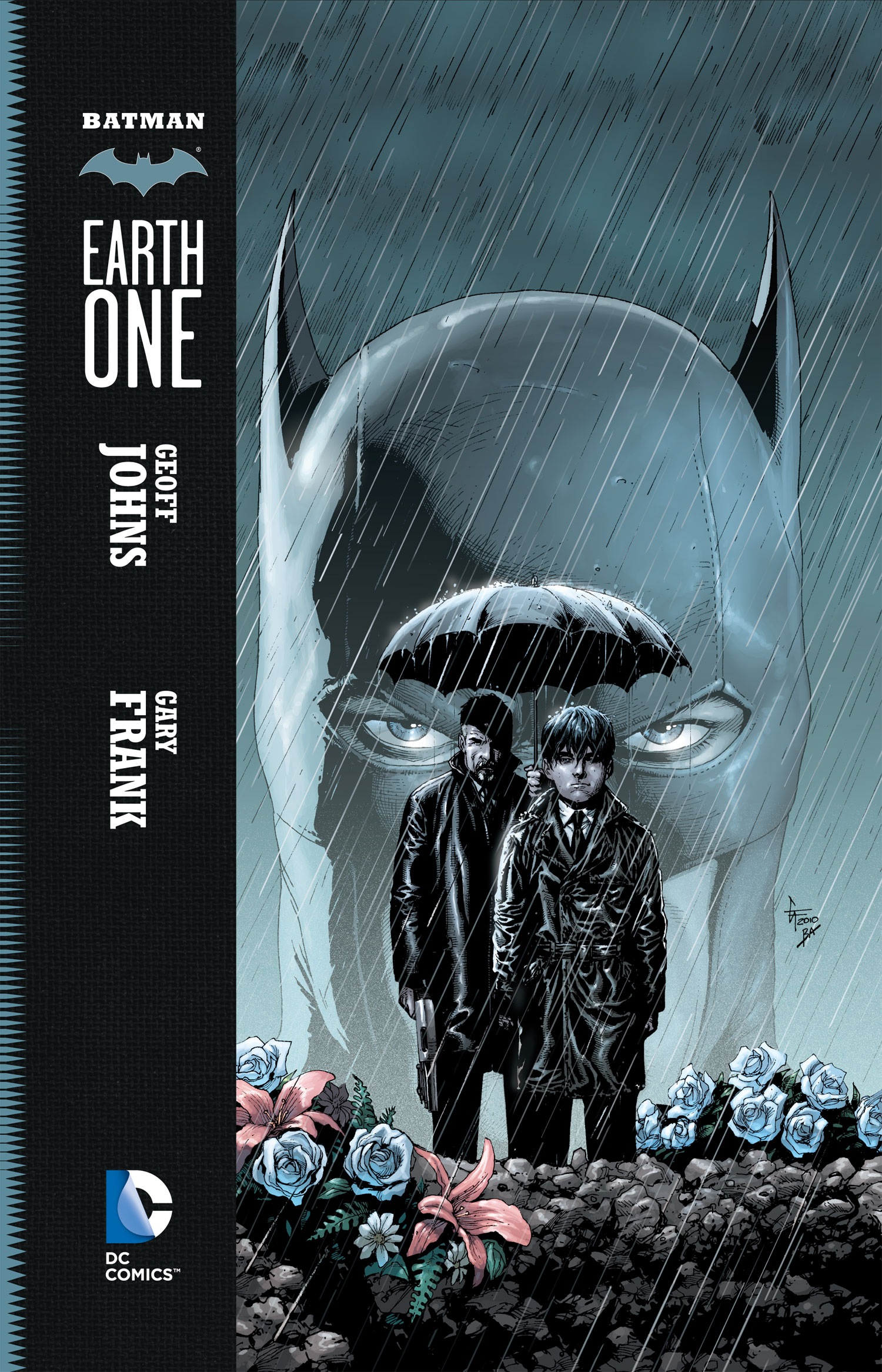 'Batman: Earth One' Cover by Gary Frank & Brad Anderson
