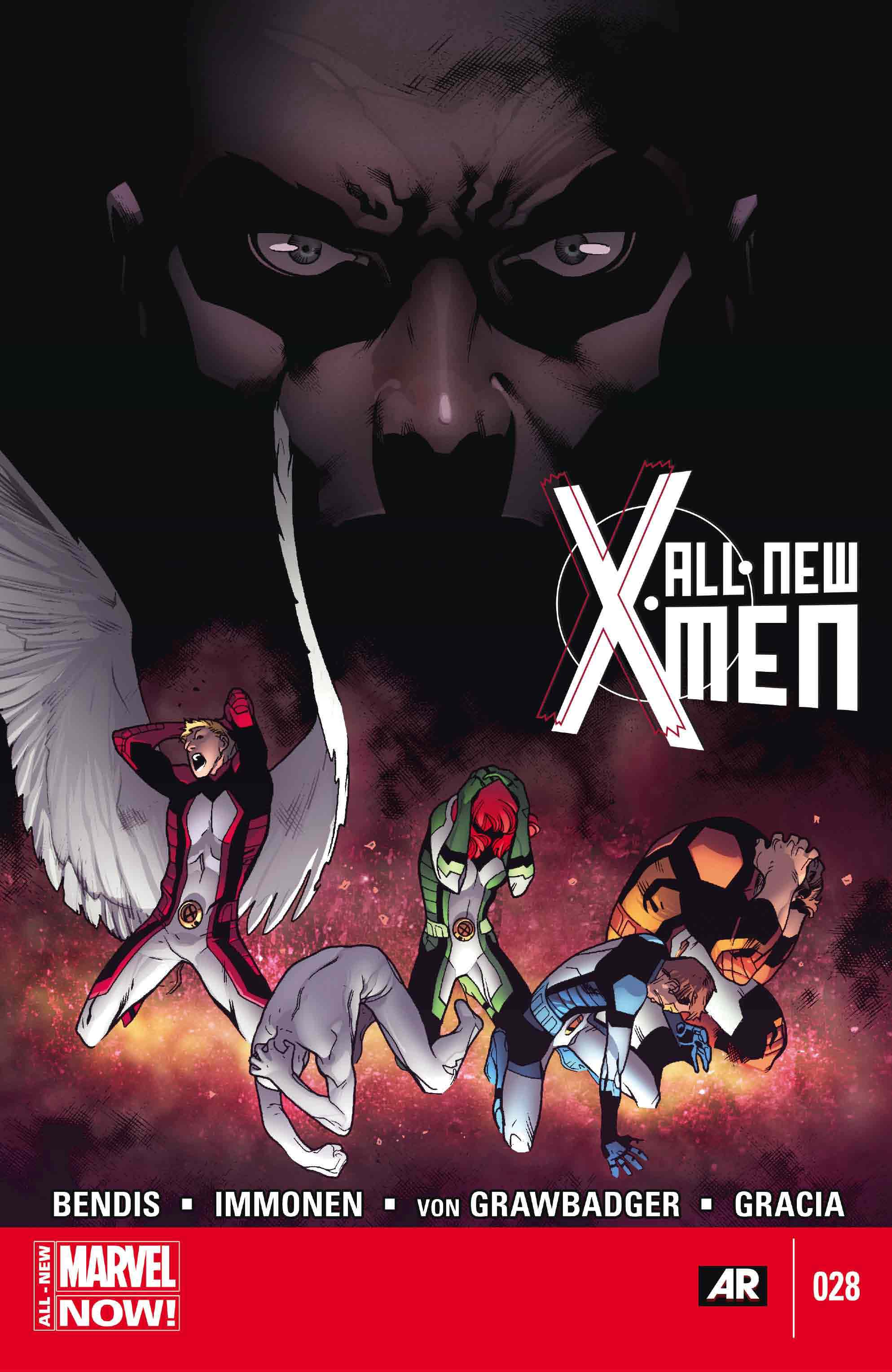'All-New X-Men' #28 cover by Stuart Immonen, Wade Von Grawbadger & Marte Gracia