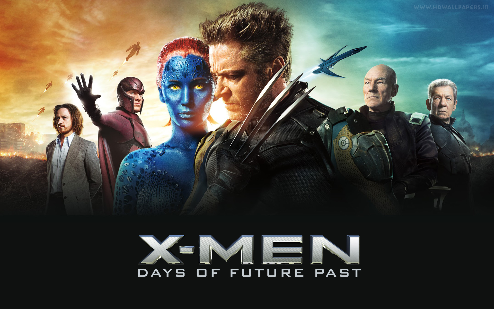 'X-Men: Days of Future Past' Banner Art