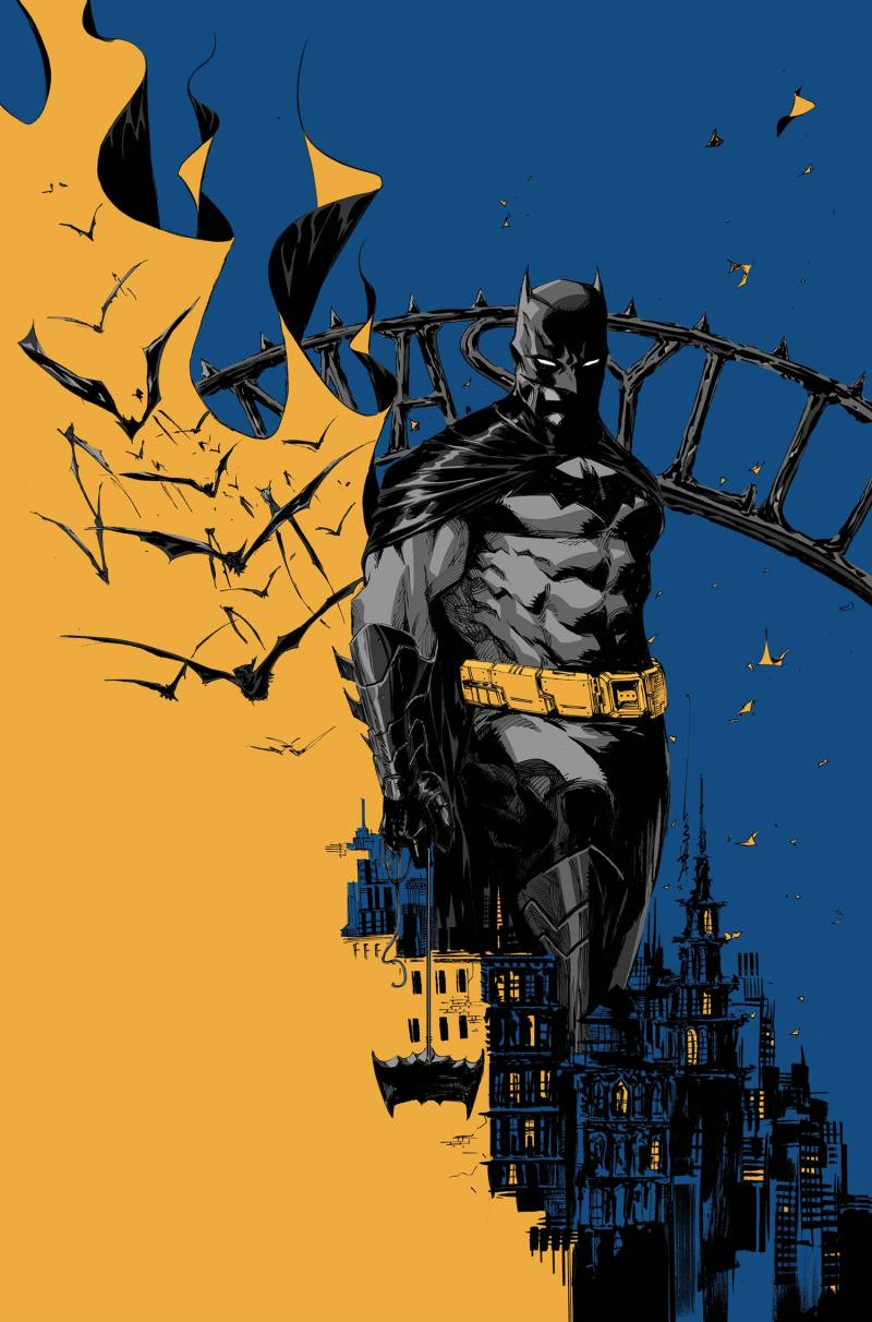 Cover art for 'Batman Eternal' #16 by Dustin Nguyen