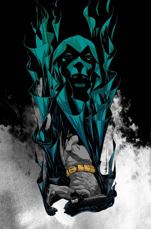 Cover art for 'Batman Eternal' #17 by Dustin Nguyen
