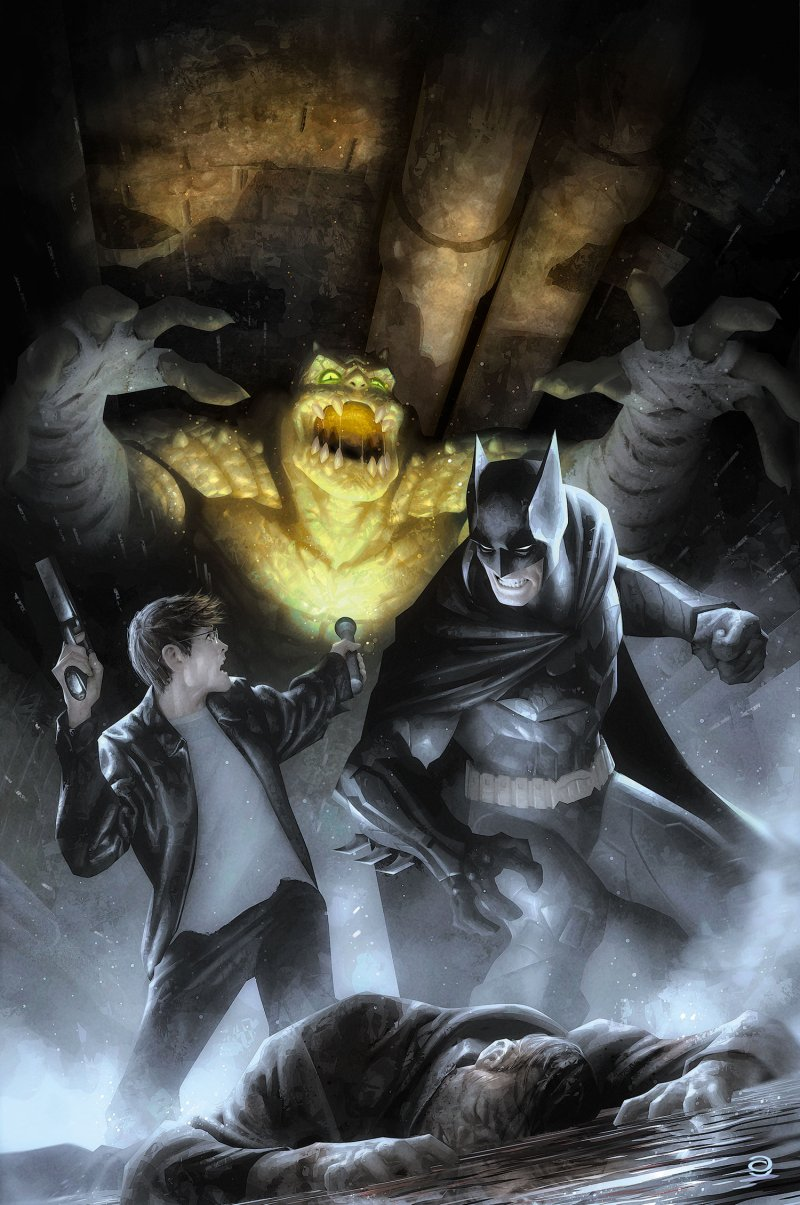 Cover art for 'Batman Eternal' #18 by Alex Garner