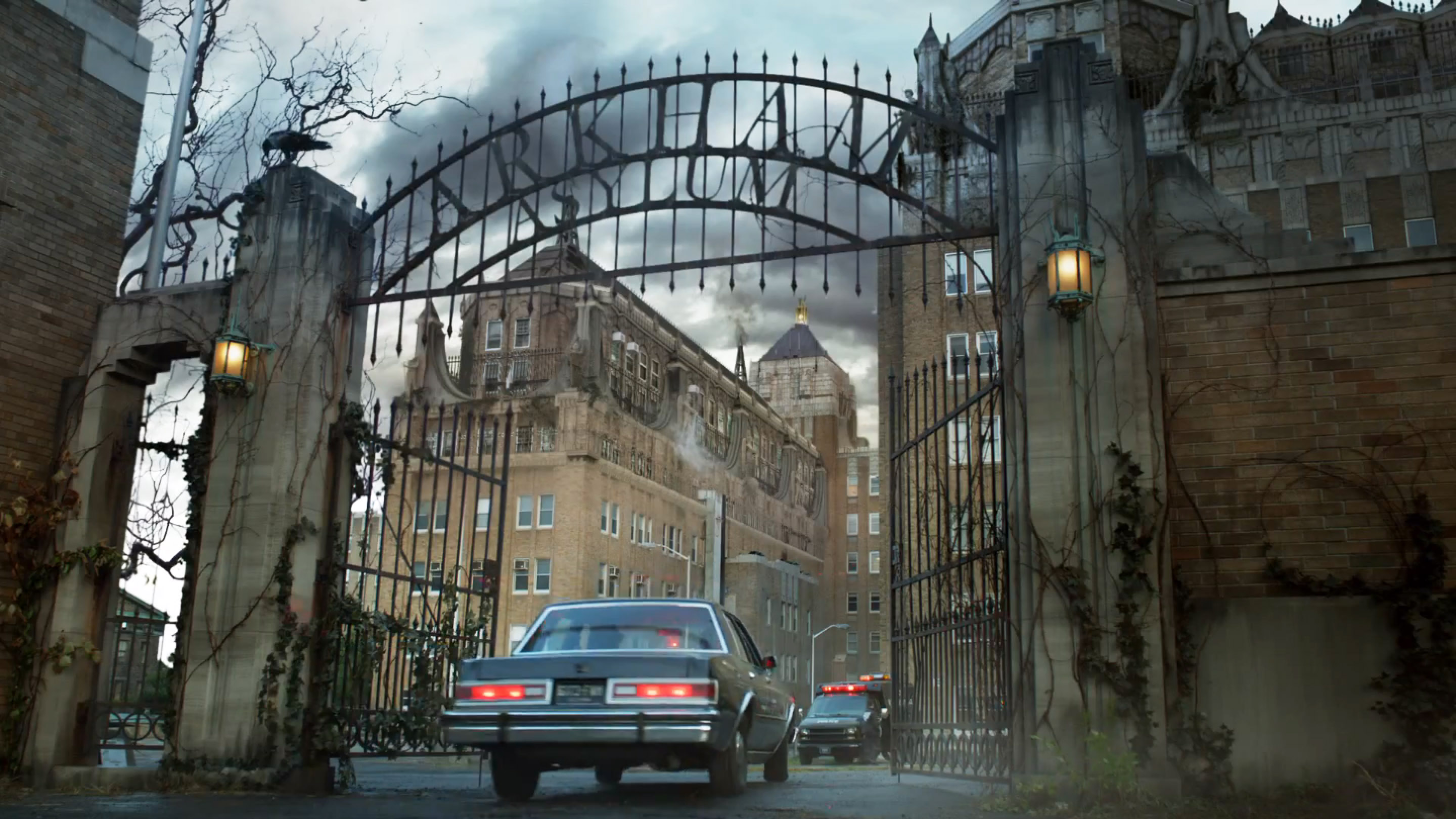 Arkham as it appears in 'Gotham'