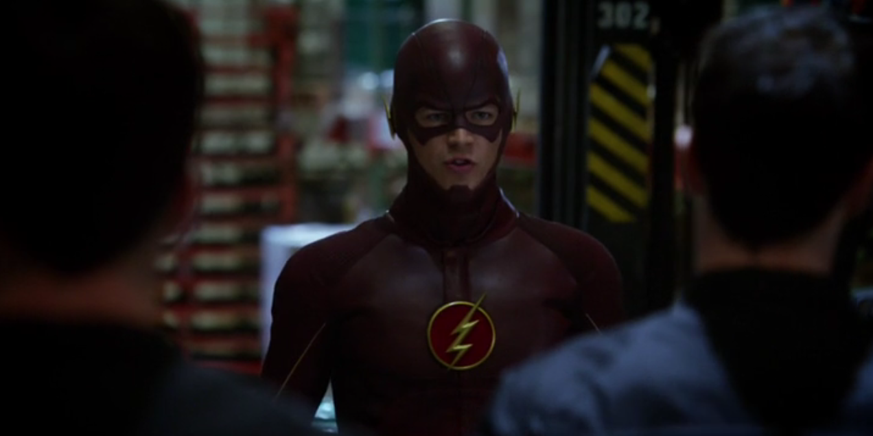 Grant Gustin in 'The Flash' S01E02 'Fastest Man Alive'