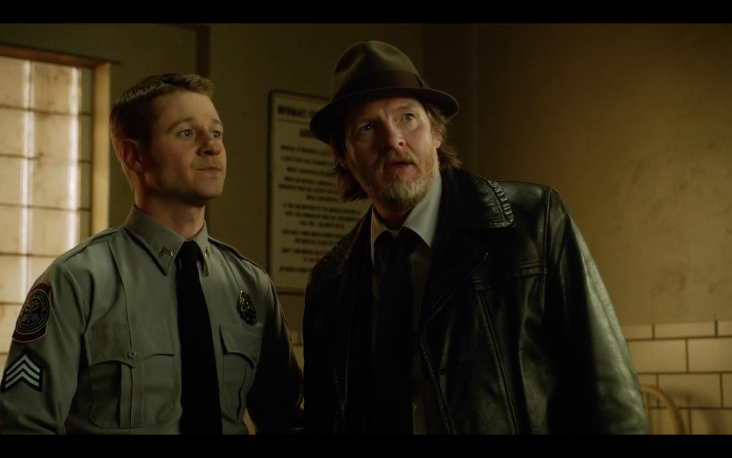 Ben McKenzie & Donal Logue in 'Gotham'