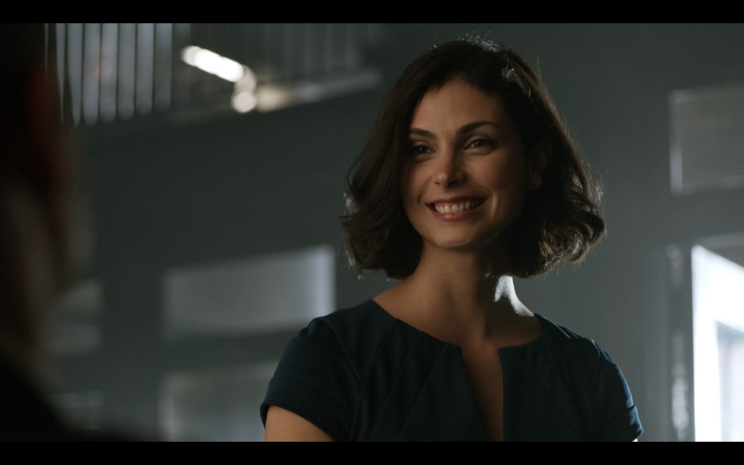 Morena Baccarin as Dr Leslie Thompkins in 'Gotham'