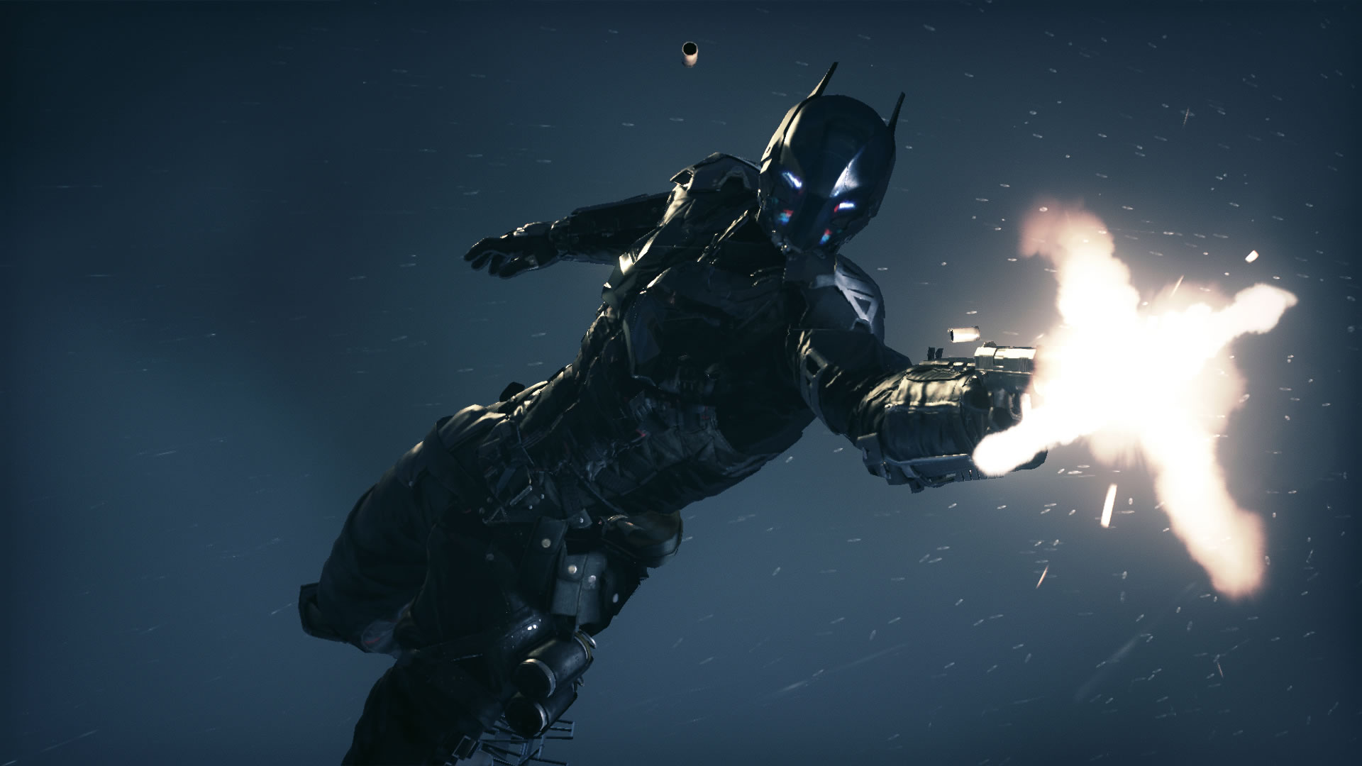 The Arkham Knight in Rocksteady Games 'Batman: Arkham Knight'