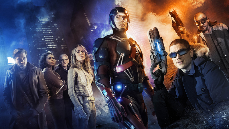 The main cast of The CW's 'DC's Legends of Tomorrow'