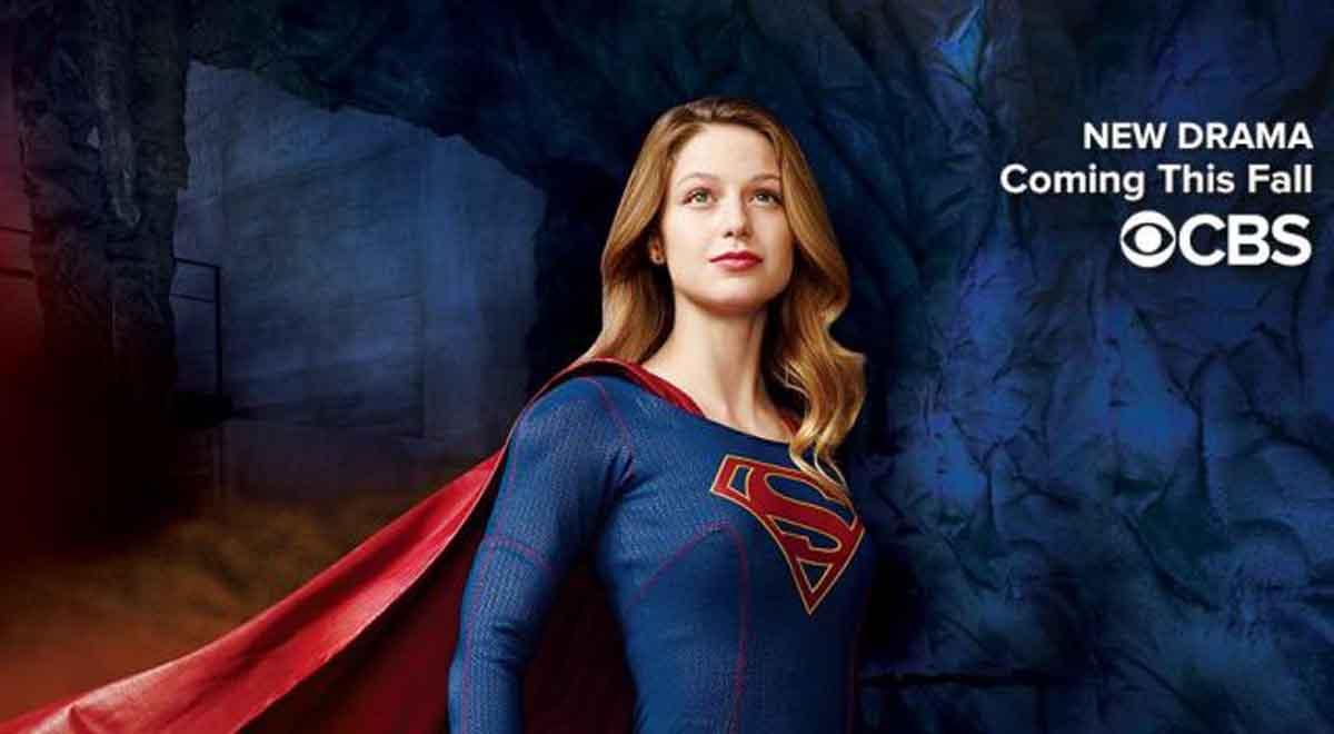 Melissa Benoist in CBS 'Supergirl'