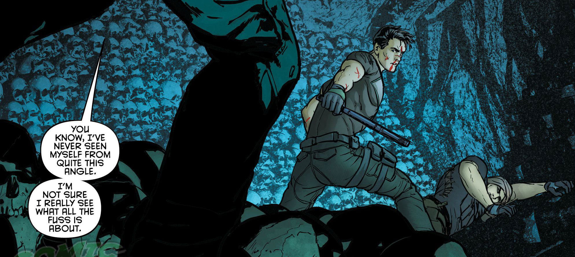 Page art from 'Grayson' #11