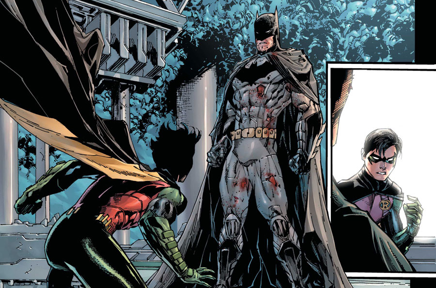 'Batman & Robin Eternal' #1 artwork by Tony Salvador Daniel & Tomeu Morey