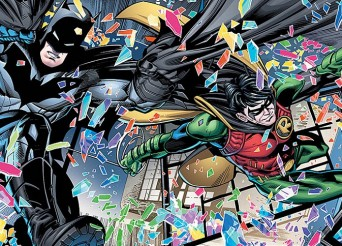 'Batman & Robin Eternal' #5 artwork by Scot Eatonn & Gabe Eltaeb