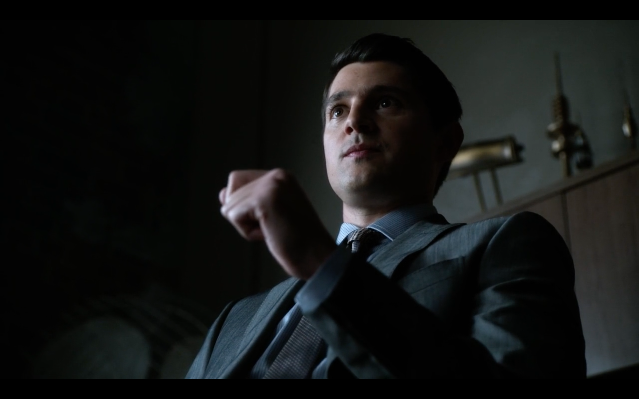 Nicholas D'Agosto as Harvey Dent in 'Gotham'
