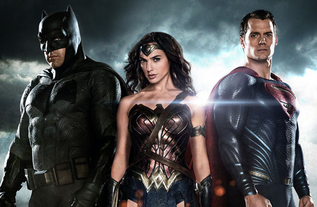 Ben Affleck, Gal Gadot & Henry Cavill in Warner Bros. 'Batman v Superman: Dawn of Justice'