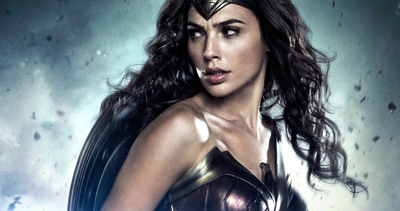 'Wonder Woman' poster artwork for 'Batman v Superman: Dawn of Justice'