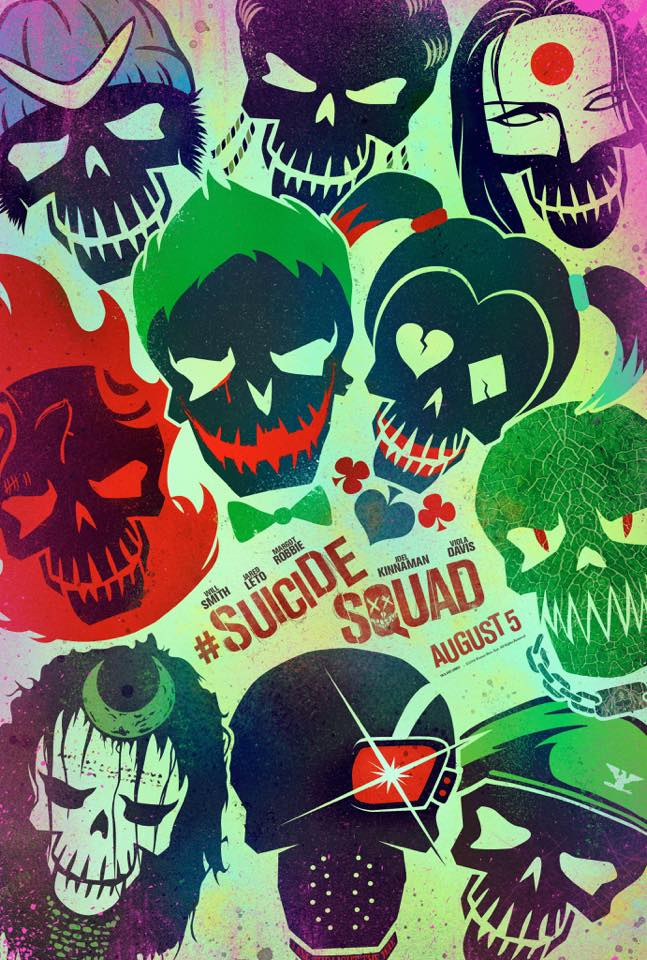 Poster artwork for 'Suicide Squad'