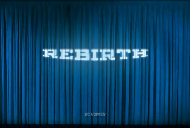 DC Comics 'Rebirth' logo