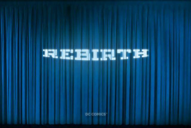 DC Comics 'Rebirth' logo