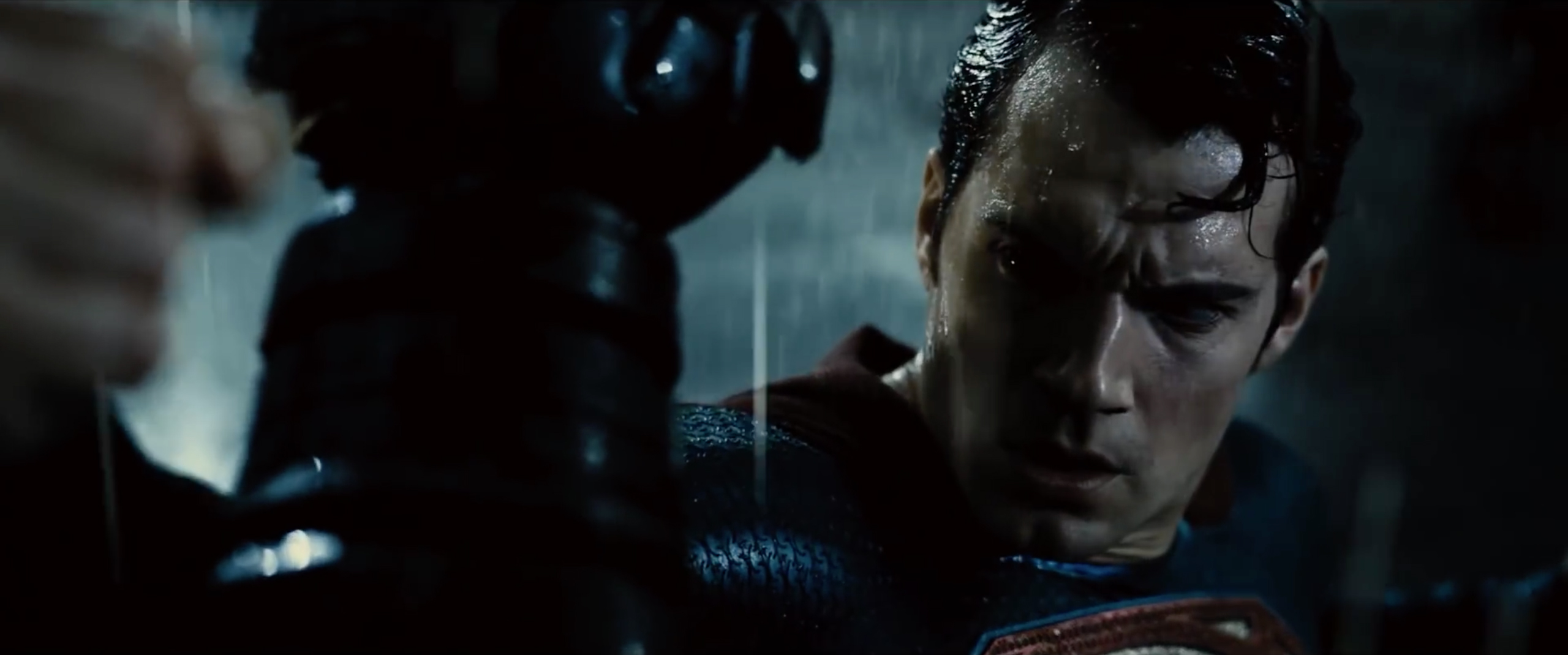 Henry Cavill as Superman in 'Batman v Superman: Dawn of Justice'