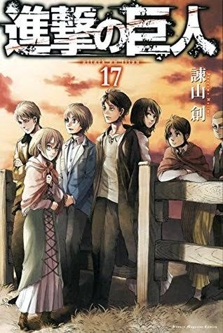 'Attack on Titan' vol.17 cover art