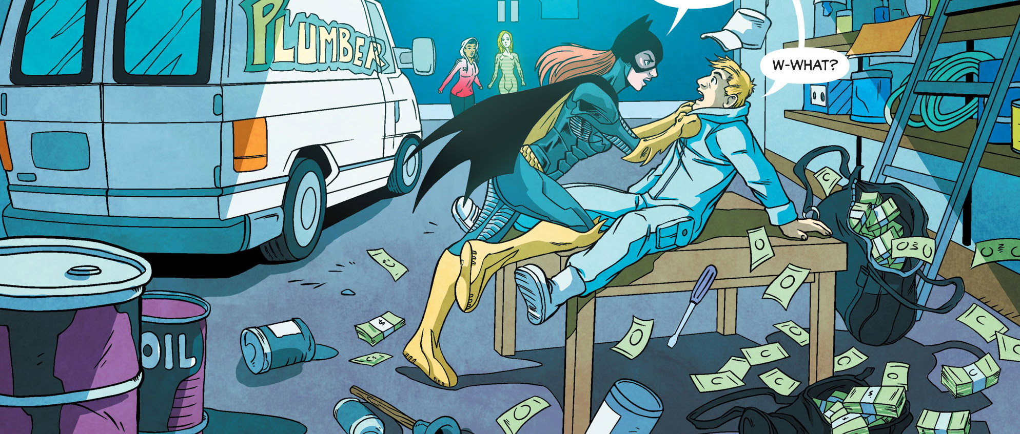Artwork from 'Batgirl' #49
