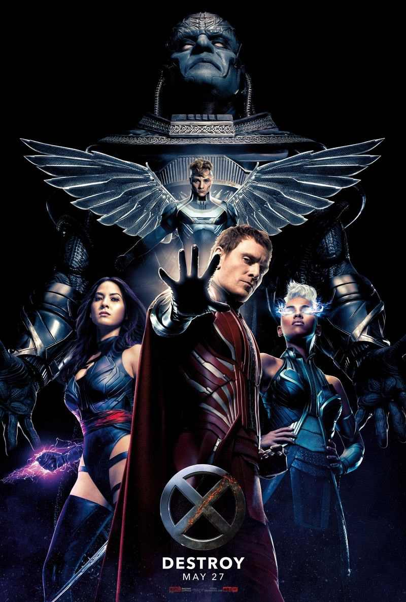 The villains of 'X-Men: Apocalypse'