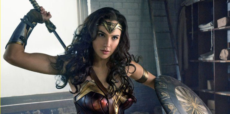 Gal Gadot as Wonder Woman in 'Wonder Woman'
