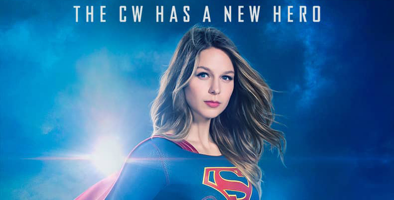 Melissa Benoist as Kara Danvers in 'Supergirl'