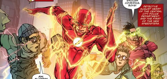 'The Flash: Rebirth' #3 artwork