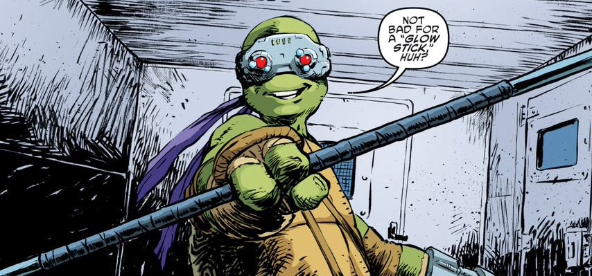 'TMNT' #61 art by Dave Watcher