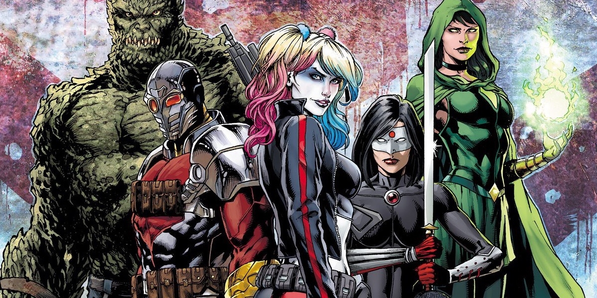 The DC Comics: Rebirth Suicide Squad team