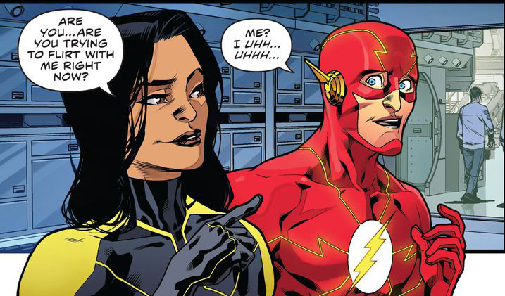 'The Flash: Rebirth' #4 artwork by Neil Googe & Ivan Placencia