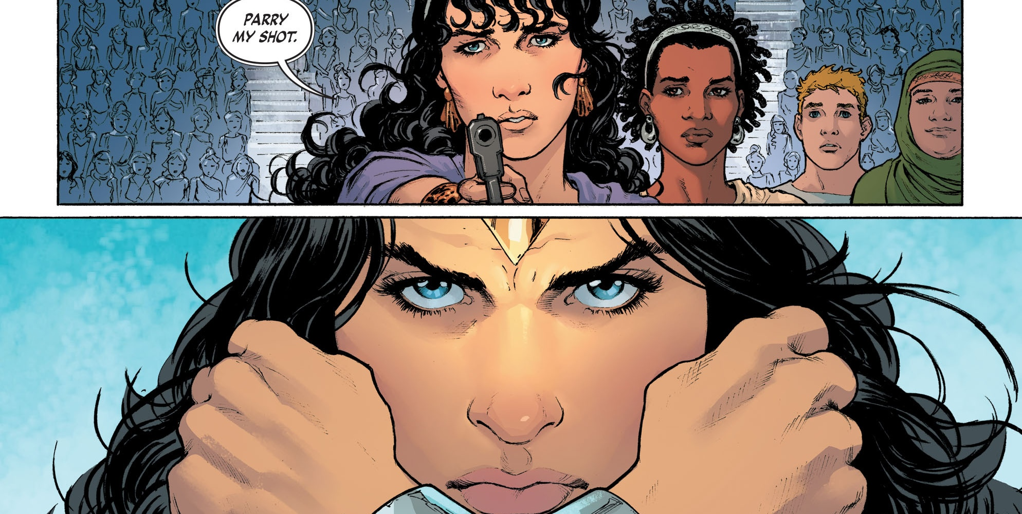 'Wonder Woman: Rebirth' #4 art by Nicola Scott