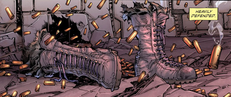 'Suicide Squad' #4 art by Gary Frank, Jim Lee, Alex Sinclair & Scott Williams