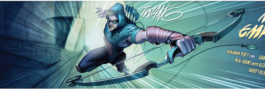 'Green Arrow' #10 art by Juan Ferreyra