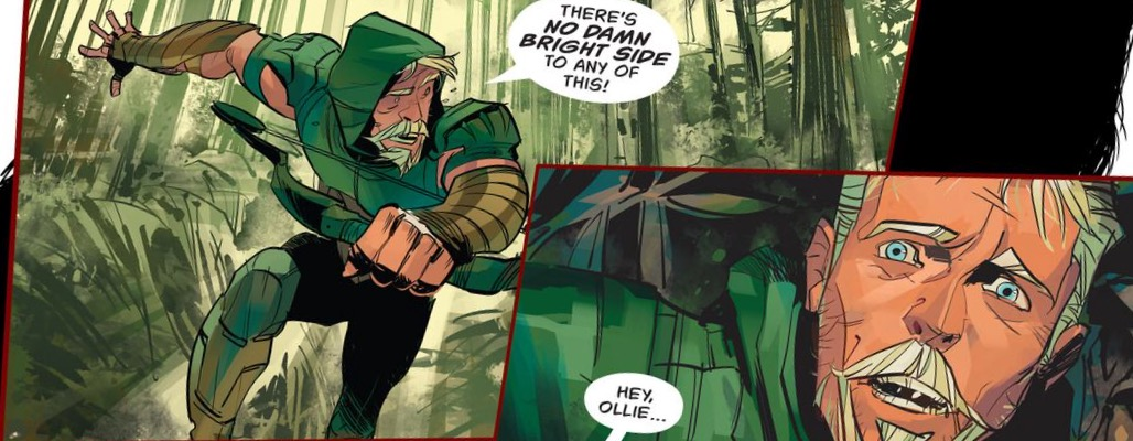 'Green Arrow' #8 art by Juan E. Ferreyra , Otto Schmidt