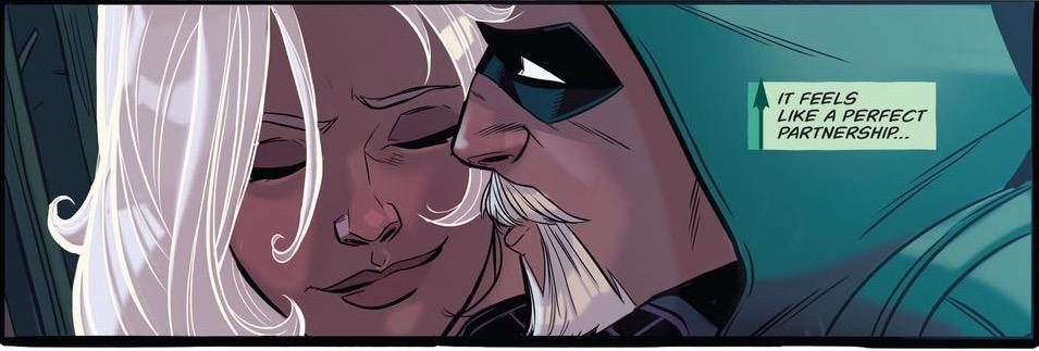 'Green Arrow' #9 art by Stephen Byrne