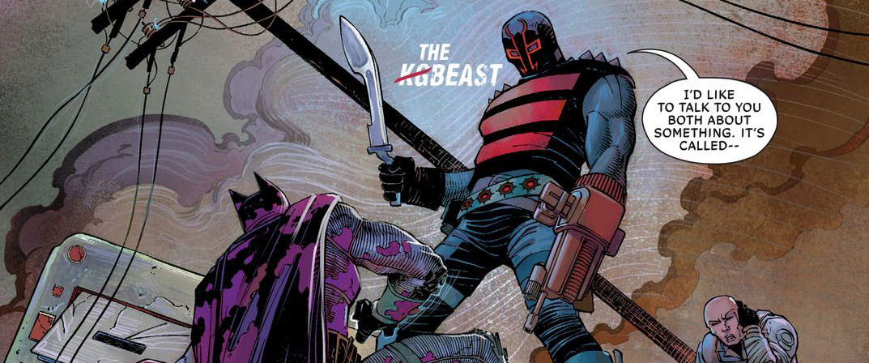 'All-Star Batman' #3 art by John Romita Jr., Danny Miki & Declan Shalvey