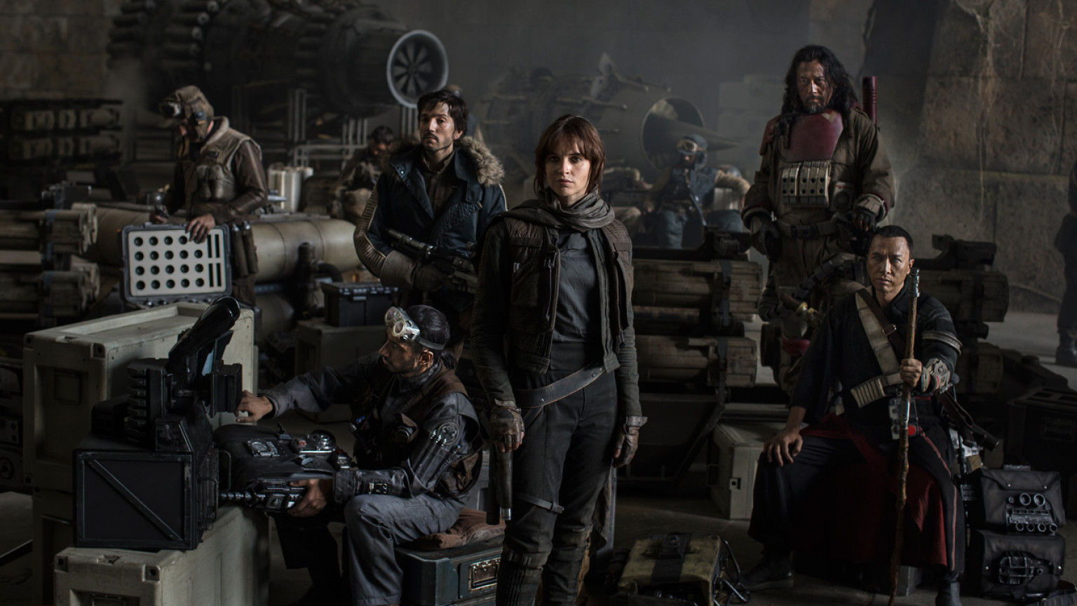 The cast of 'Rogue One: A Star Wars Story'